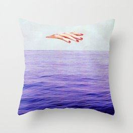 placate Throw Pillow