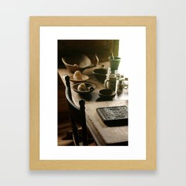 Lovely Wood Framed Art Print