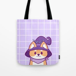 Witch Doggo Tote Bag
