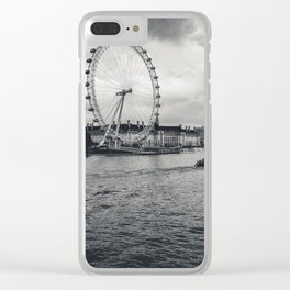 London by the Thames Clear iPhone Case