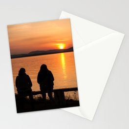 Sunset Fleuve St-Laurent Stationery Cards