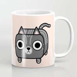 Cat Loaf - Grey Tabby Kitty Coffee Mug