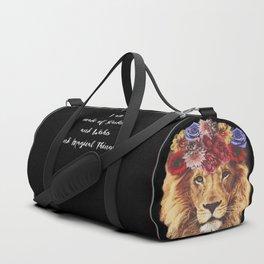Stardust Lion Duffle Bag