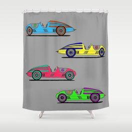 Banana Car Shower Curtain