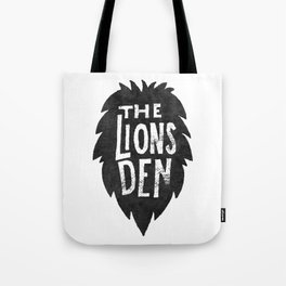 The Lions Den Tote Bag