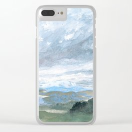 Landscapes in my mind Clear iPhone Case
