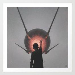 Sputnik Art Print