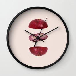 Onions Wall Clock