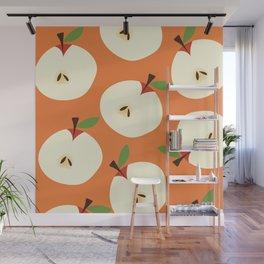 apple pattern Wall Mural