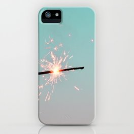 Pastel Sparkler iPhone Case