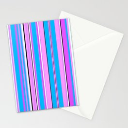 Stripes-007 Stationery Cards