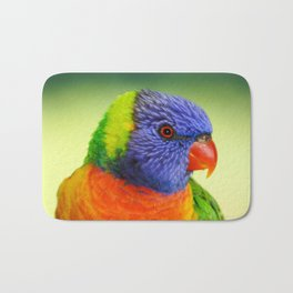 Rainbow Lorikeet Bath Mat