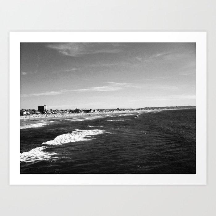 Pacific beach Kunstdrucke