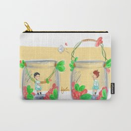 Iwaoi volleybottles / IWAIZUMI Carry-All Pouch