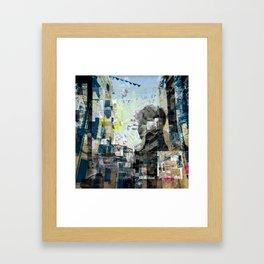 Fragmentation Framed Art Print