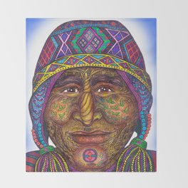 Wisdom Keeper Color #32 (Preservation) Throw Blanket