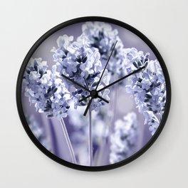 lavender blue 02 Wall Clock