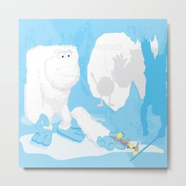Snow cone anyone? Metal Print