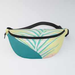 Spring Palm Fanny Pack