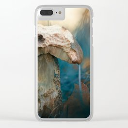 When there's nothing left.. Clear iPhone Case