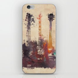 guitars 3 iPhone Skin