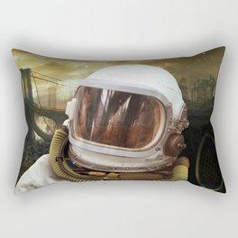 Nuclear gioconda Rectangular Pillow