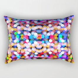 Multicolored lamp shades Rectangular Pillow