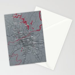 FanMap | NCAA Alabama #04 Stationery Cards