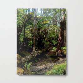 Volcanic Forest Metal Print