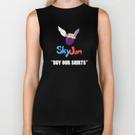 """""""BUY OUR SHIRTS"""" Shirt Biker Tank"""