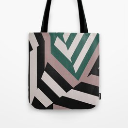 ASDIC/SONAR Dazzle Camouflage Graphic Design Tote Bag