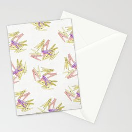 Сlothespins Stationery Cards