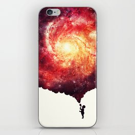 The universe in a soap-bubble! iPhone Skin