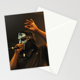 MF Doom - Metal Fingers Daniel Dumile - HIP HOP ICON oo9 Stationery Cards