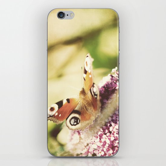 """""""""""I only ask to be free. The butterflies are free.""""  ~ Charles Dickens iPhone & iPod Skin"""