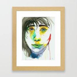 Arctic Lady Framed Art Print
