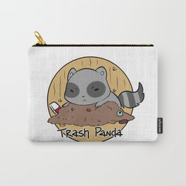 Trash Panda in a Trash Pile Carry-All Pouch