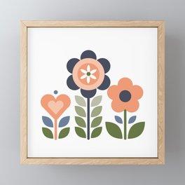 Flower Folk Framed Mini Art Print