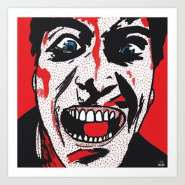 Evil Dead   Pop Art Art Print