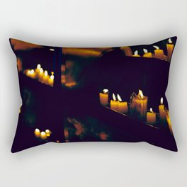 Temple Candles Rectangular Pillow