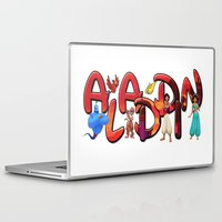 aladdin Laptop & iPad Skins featuring Aladdin  by Mix-Master