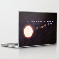 low poly Laptop & iPad Skins featuring Low Poly Space by Scott Ulliman