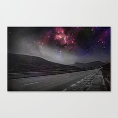 Planetary Highway Canvas Print