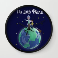 The Little Planet Wall Clock