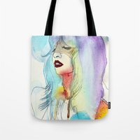 melissa smith Tote Bags featuring Melissa Stastiuk by Bea Barnachea