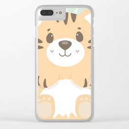 Tommy Tiger Clear iPhone Case