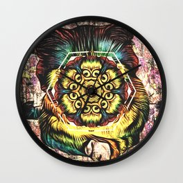 All-Seeing Cat Wall Clock