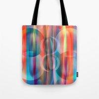 bubblegum Tote Bags featuring Bubblegum by Christine baessler