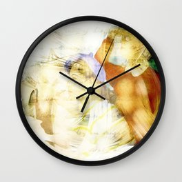 Newport Oregon - Imagination Wall Clock