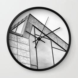 It's All About The Angles Wall Clock